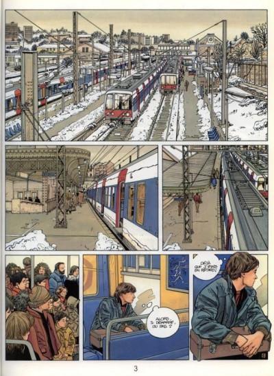 Page 1 Tendre banlieue tome 3 - La briqueterie (éd. 1986)