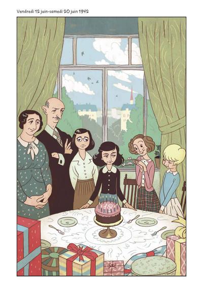 Page 5 Le journal d'Anne Frank - roman graphique