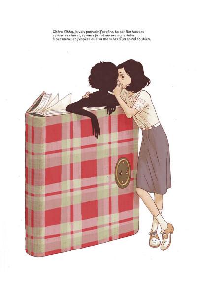 Page 8 Le journal d'Anne Frank - roman graphique