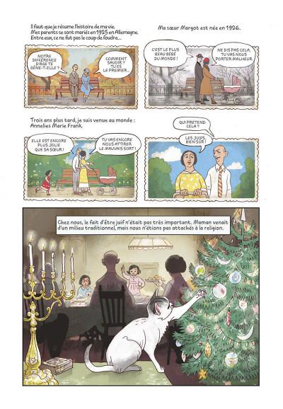 Page 9 Le journal d'Anne Frank - roman graphique
