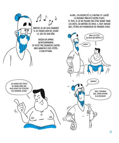Page 9 l'homme etoile ; a la vie !