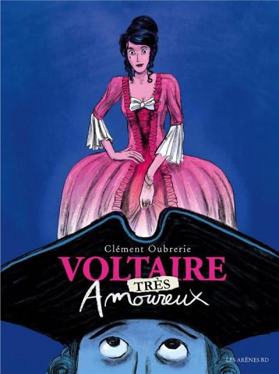 Couverture Voltaire amoureux tome 2
