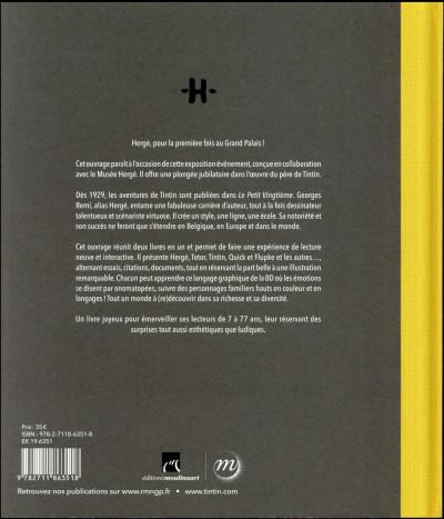 Dos Hergé - catalogue