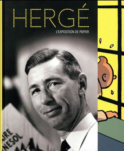 Couverture Hergé - l'exposition de papier