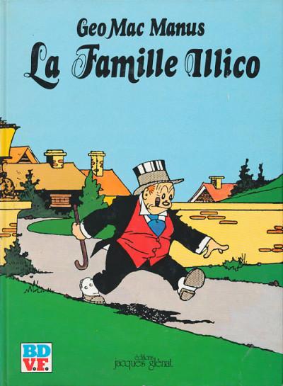 Couverture Famille Illico (La) - La famille Illico (éd. 1980)