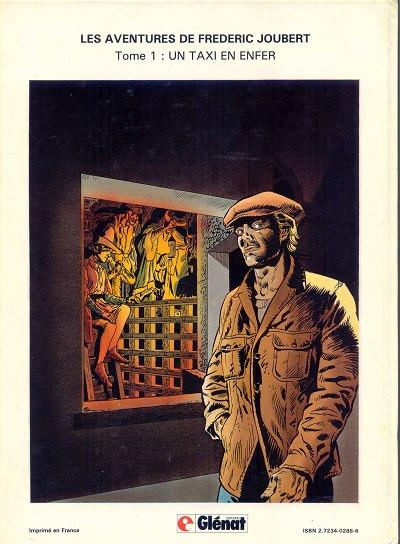 Dos Frédéric Joubert (Les aventures de) tome 2 - Rapt en 24 images/seconde (éd. 1982)