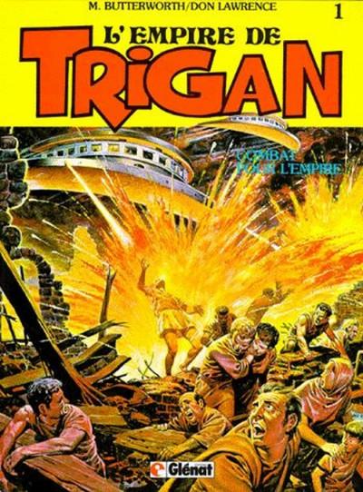 Couverture Trigan tome 1 - combat pour l'empire