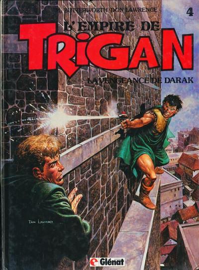 Couverture Trigan tome 4 - la vengeance de darak