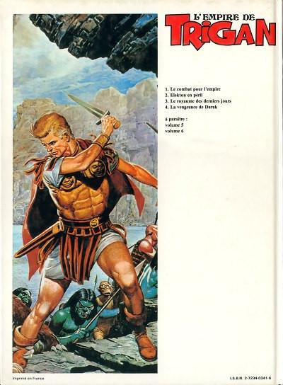 Dos Trigan tome 4 - la vengeance de darak