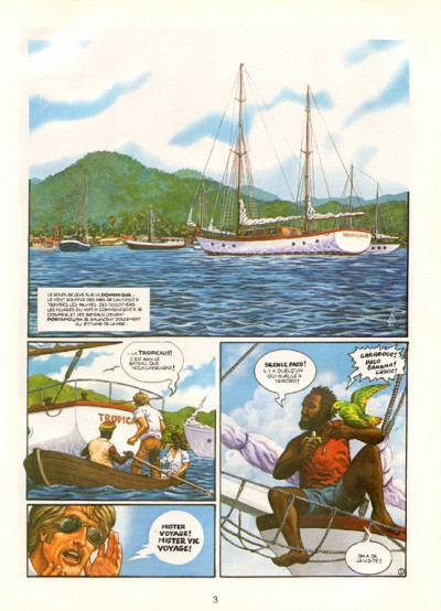Page 1 Une aventure de Vic Voyage tome 1