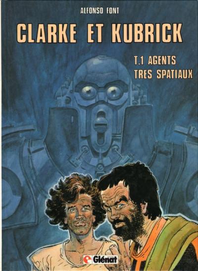 Couverture Clarke et Kubrick tome 1