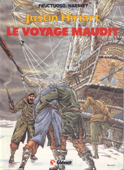 Couverture Justin Hiriart tome 2 - Le voyage maudit
