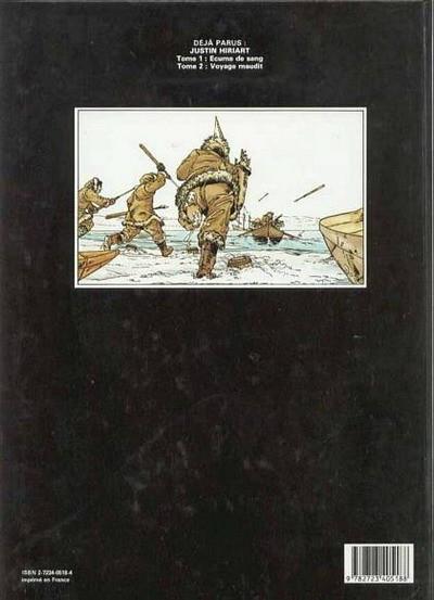 Dos Justin Hiriart tome 2 - Le voyage maudit