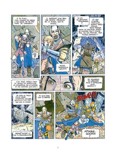 Page 8 les eaux de mortelune tome 1 - l'échiquier du rat