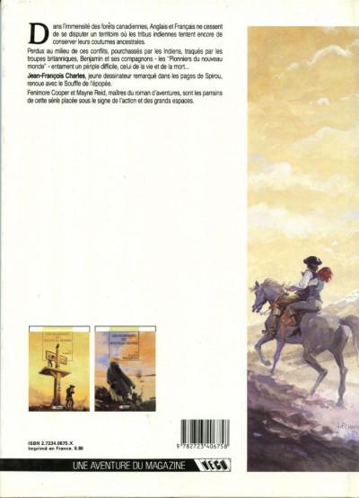 Dos Les pionniers du nouveau monde tome 2 - le grand dérangement