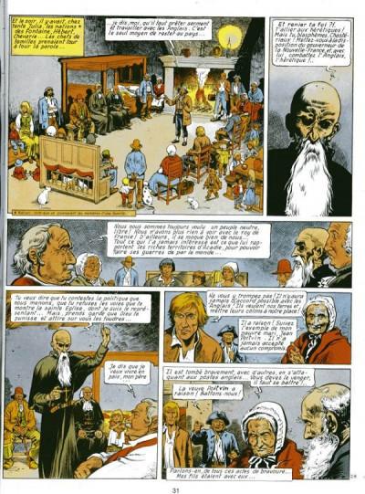 Page 2 Les pionniers du nouveau monde tome 2 - le grand dérangement