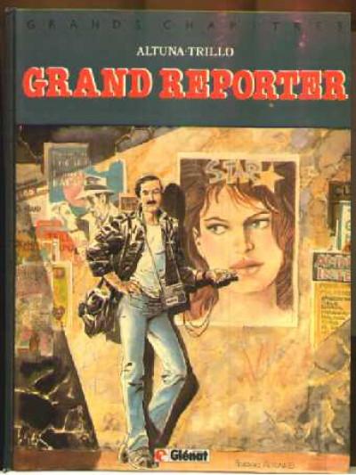 Couverture Grand reporter