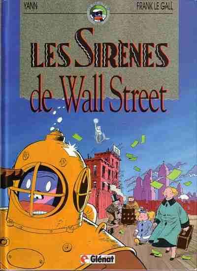Couverture Les exploits de Yoyo tome 2 - Sirènes de wall street
