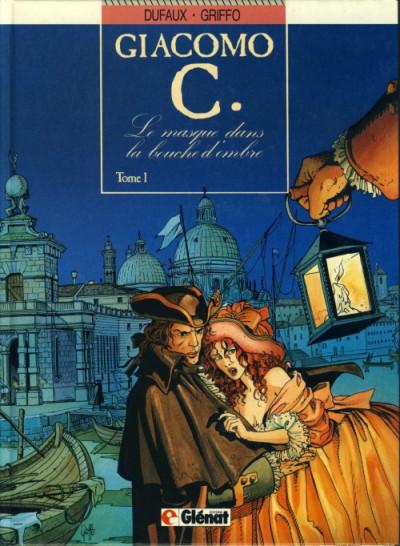 Couverture Giacomo c. tome 1 -  Le masque dans la bouche d'ombre