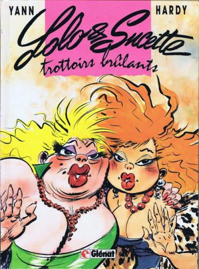 Couverture Lolo et Sucette tome 1 - Trottoirs brûlants (éd. 1989)