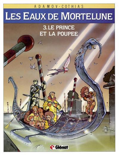 Couverture les eaux de mortelune tome 3 - le prince et la poupee
