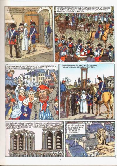 Page 1 Souvenirs de la pendule (Les) tome 2 - L'étrangère (éd. 1989)