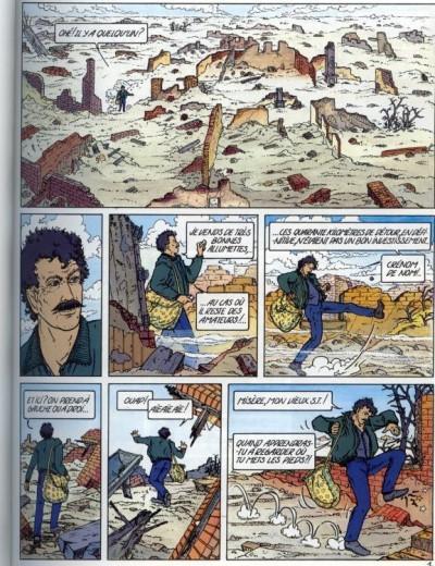 Page 1 Hybrides tome 4 - au loin, une ile