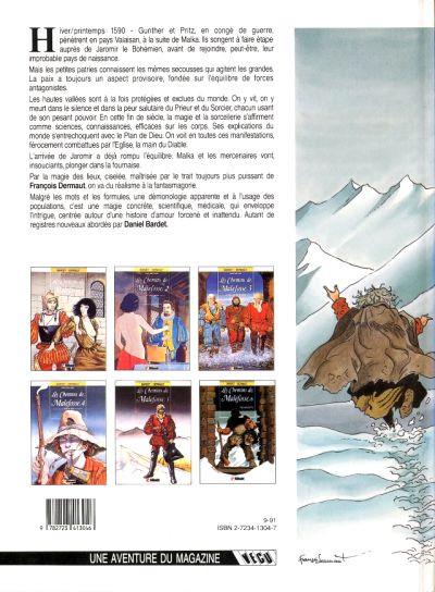 Dos Les chemins de malefosse tome 6 - tschaggatta