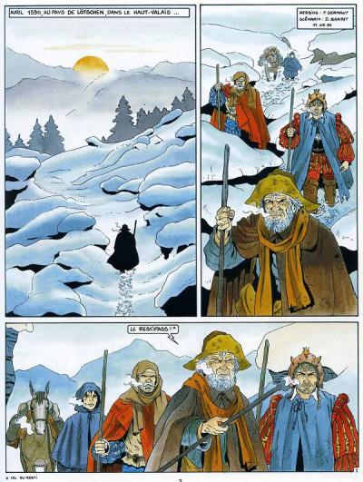 Page 2 Les chemins de malefosse tome 6 - tschaggatta
