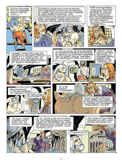 Page 7 coeur brulé tome 1 - le chemin qui marche