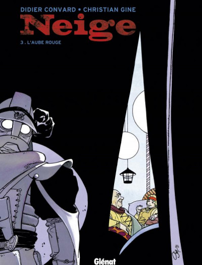 Couverture neige tome 3 - l'aube rouge