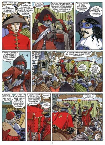 Page 1 Les 7 vies de l'épervier tome 7 - marque du condor