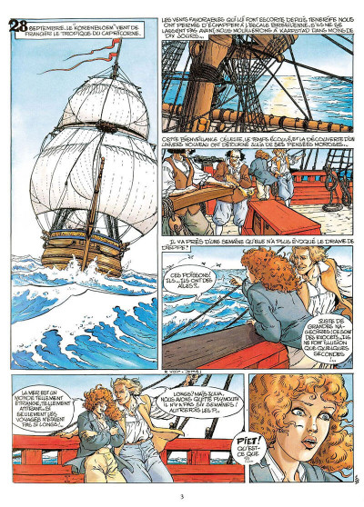 Page 4 pieter hoorn tome 2 - les rivages trompeurs