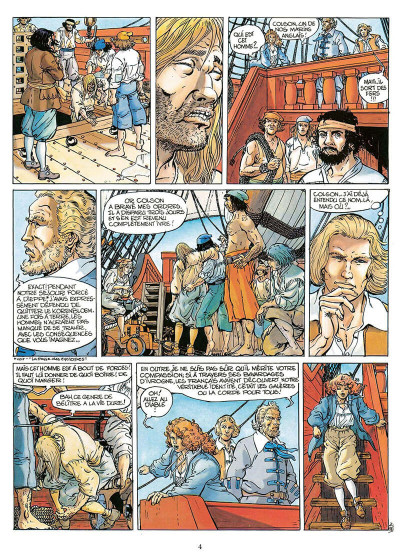 Page 5 pieter hoorn tome 2 - les rivages trompeurs