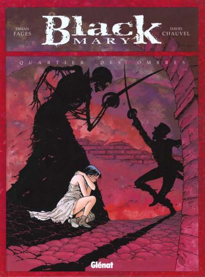 Couverture black mary tome 1 - quartier des ombres