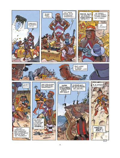 Page 5 dayak tome 1 - ghetto 9