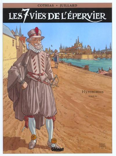 Couverture les 7 vies de l'épervier tome 4 - hyronimus