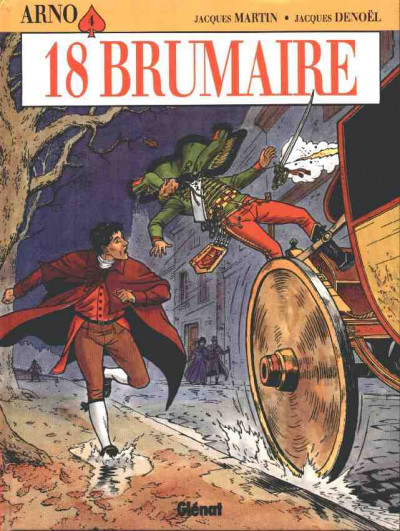 Couverture arno tome 4 - 18 brumaire