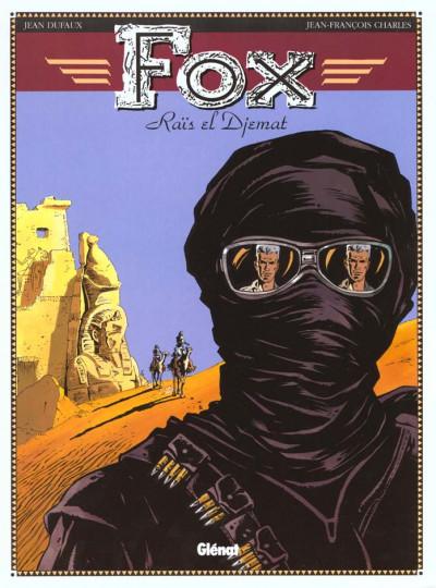 Couverture fox tome 3 - rais el djemat