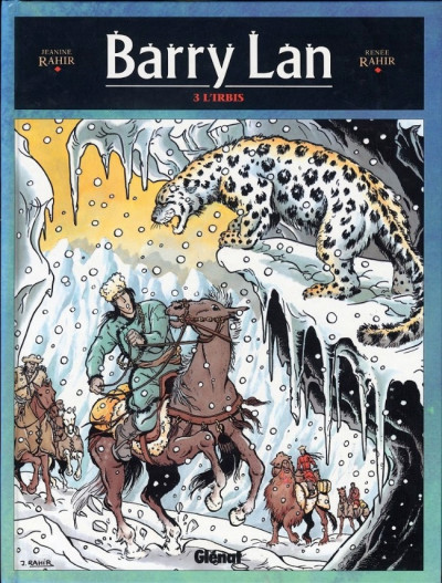 Couverture Barry Lan tome 3 - l'irbis