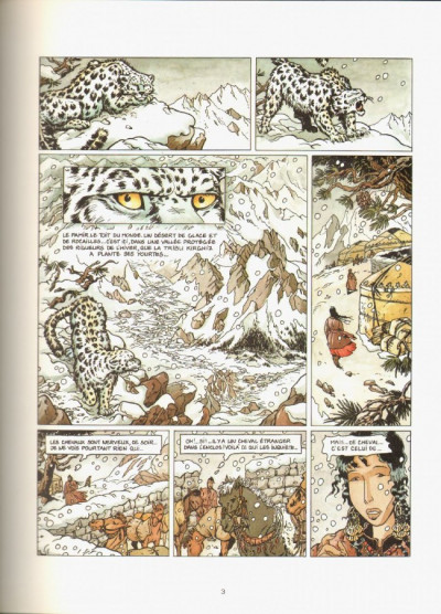 Page 1 Barry Lan tome 3 - l'irbis