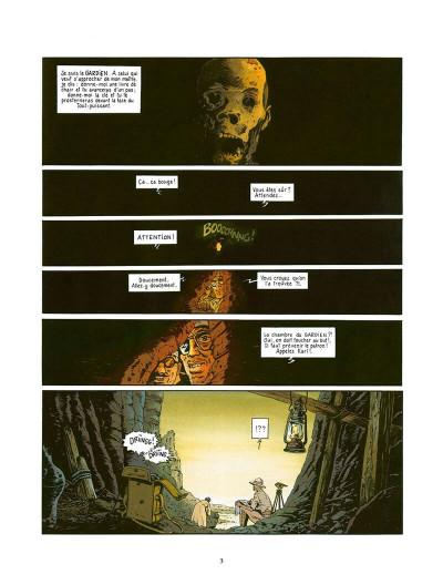 Page 4 fox tome 4 - le dieu rouge