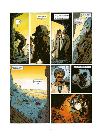 Page 5 fox tome 4 - le dieu rouge