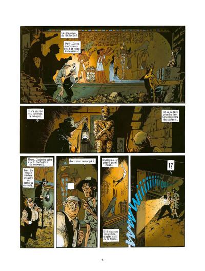Page 6 fox tome 4 - le dieu rouge