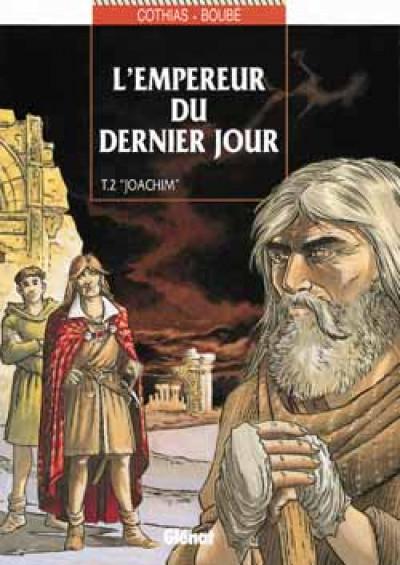 Couverture l'empereur du dernier jour tome 2 - joachim