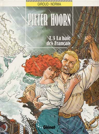Couverture Pieter Hoorn tome 3 - la baie des français