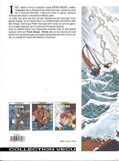 Dos Pieter Hoorn tome 3 - la baie des français