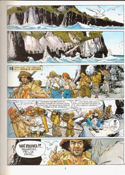 Page 1 Pieter Hoorn tome 3 - la baie des français