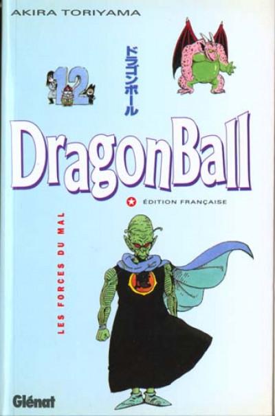 Couverture dragon ball tome 12 - les forces du mal