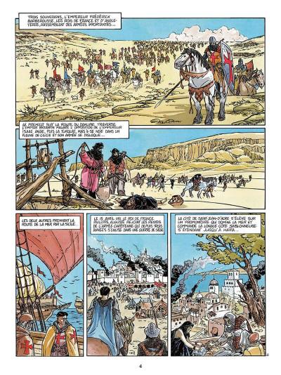 Page 5 L'empereur du dernier jour tome 3 - coeur de lion